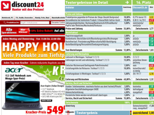 Discount24.de: Internet-Shop