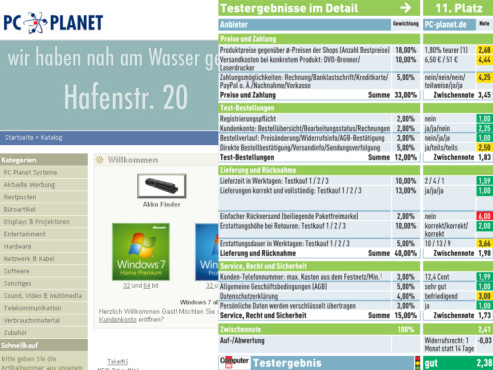 PC-planet.de: Internet-Shop