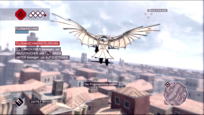 Komplettlösung Assassins Creed 2: Fliegen