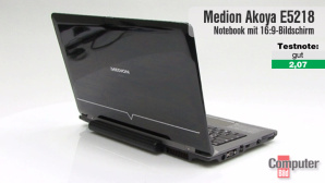Aldi-Notebook-Medion-Akoya-E5218: im Video