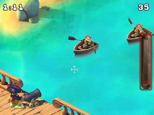 Moorhuhn-Homepage: Piraten versenken