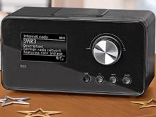 Internet-Weckradio von Aldi S�d im Test Internet-Weckradio Tevion IWR294