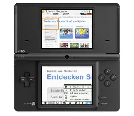 Nintendo DSi: Browser ©Nintendo