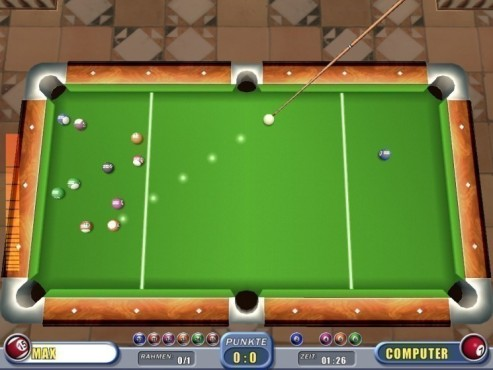 3D Pool Billiard © COMPUTER BILD