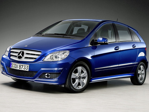Mercedes B180 NGT Blue Efficiency - Erdgas-betrieben
