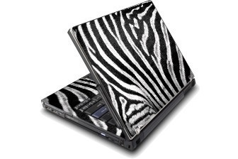 Notebookfolie Zebra