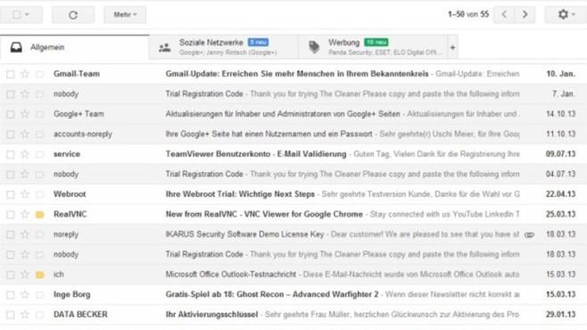 Gmail: Wegwerf-Mailadressen spielend erzeugen ©COMPUTER BILD