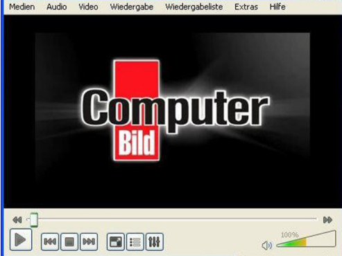 VLC Media Player © COMPUTER BILD