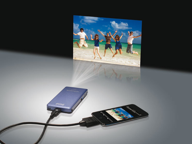 microvision showwx mini beamer f r iphone und ipod touch
