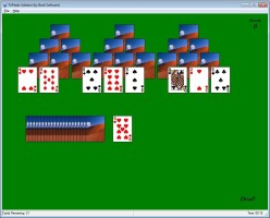 Screenshot 1 - TriPeaks Solitaire