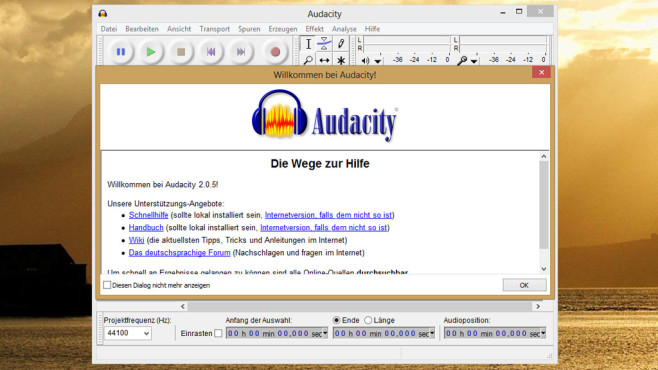 Audacity: Musik umfangreich bearbeiten ©COMPUTER BILD