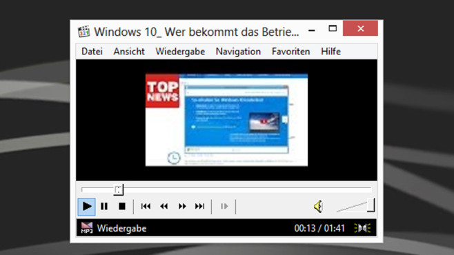 Media Player Classic – Home Cinema: Ersatz für den Windows Media Player © COMPUTER BILD
