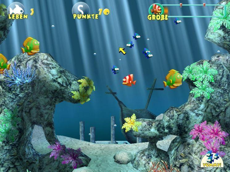 piranha spiel