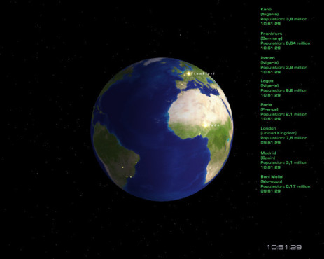 Bildschirmschoner: Cities of Earth Free 3D Screensaver