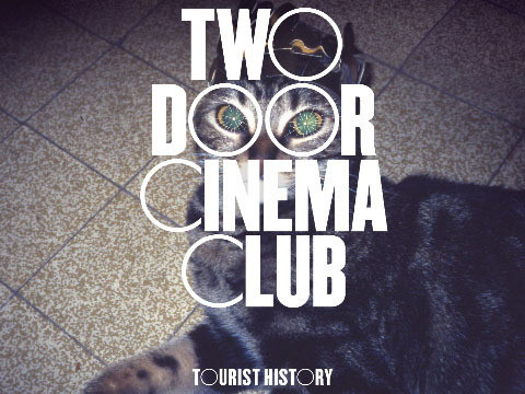"Album-Cover: Two Door Cinema Club – ""Tourist History"""