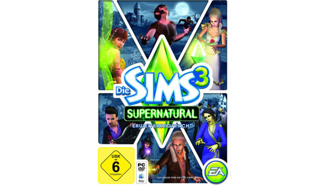 Die Sims 3 – Supernatural: Packshot © EA
