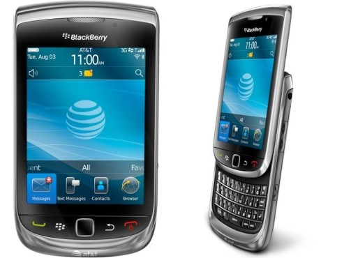 Blackberry Torch 9800 © Blackberry
