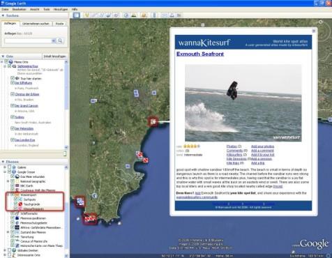 Google Earth: Reiseatlas f�r Wassersportler