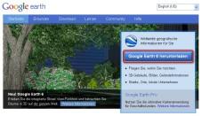 Google Earth: Google Earth von der Herstellerseite beziehen