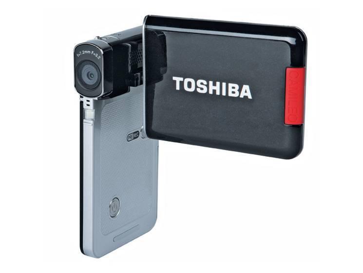 test mini camcorder toshiba camileo s20 audio video. Black Bedroom Furniture Sets. Home Design Ideas