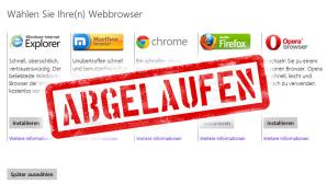 Browserauswahl auf Windows-PCs ©Microsoft, COMPUTER BILD