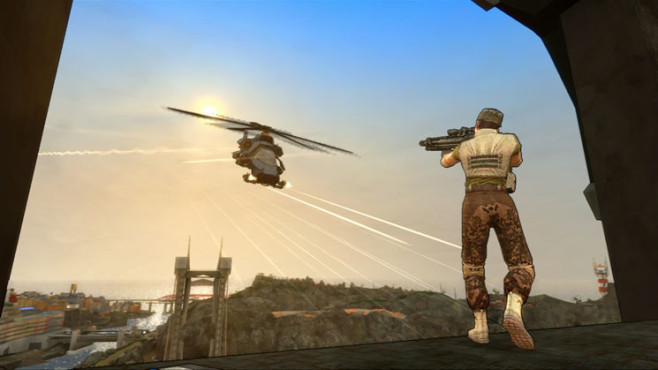 Actionspiel Crackdown 2: Helikopter © Microsoft
