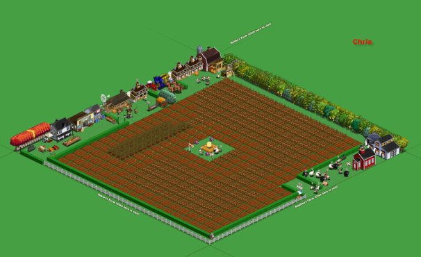 Browserspiel Farmville: Hof 1