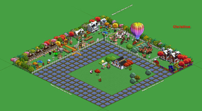 Browserspiel Farmville: Hof 2