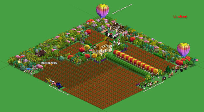 Browserspiel Farmville: Hof 3