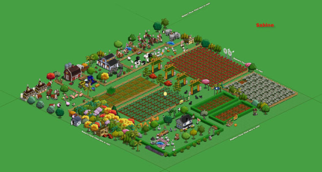 Browserspiel Farmville: Hof 8