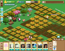 Browserspiel Farmville: Hof ©Zynga