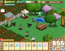 Browserspiel Farmville: Teich ©Zynga