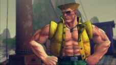 Pr�gelspiel Street Fighter 4: Guile © Capcom