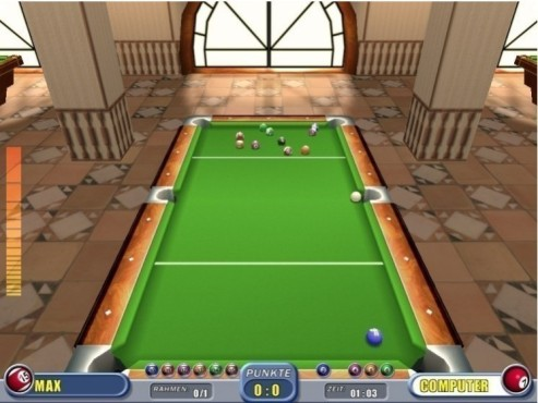 3D Pool Billiard � Kostenlose Spezial-Version © COMPUTER BILD