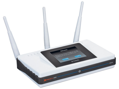 D-Link Touch: WLAN-Router mit Touchscreen