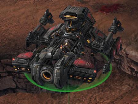 Strategiespiel StarCraft 2: Schwerer Kreuzer