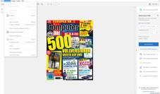 """Adobe Acrobat Reader DC: Der """"Adobe Acrobat Reader DCr"""" bietet Funktionen, die über die Anzeige und den Druck von PDF-Dokumenten hinausgehen. ©Computer BILD"""