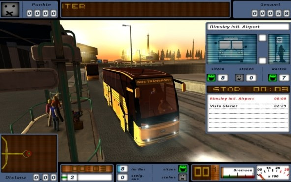Simulation Bus Driver Gold: Abend