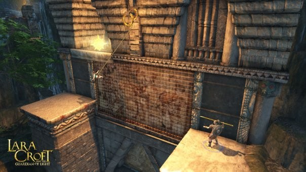 Actionspiel Lara Croft and the Guardian of Light: Abgrund © Eidos