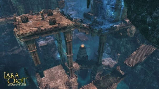 Actionspiel Lara Croft and the Guardian of Light: Grabkammer ©Eidos
