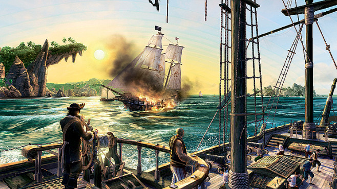 Actionspiel Pirates of the Caribbean – Armada der Verdammten: Schiff