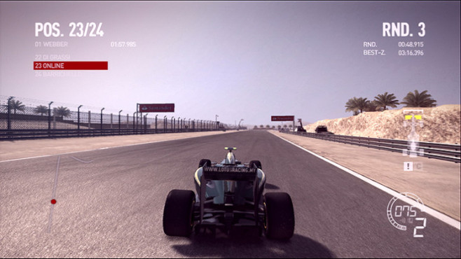 Rennspiel F1 2010: Ego-Engine © Codemasters