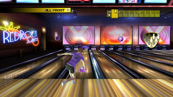 Sony Playstation Move: Brunswick Pro Bowling © Sony