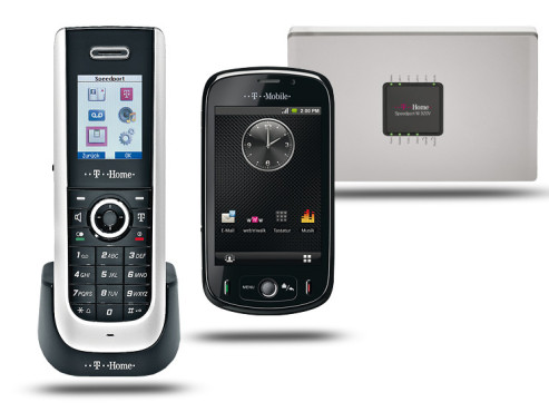 Telekom Speedphone 300 mit WLAN-Router Speedport W 920 V, T-Mobile Pulse