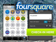 """Foursquare Wer am häufigsten eincheckt, wird """"Mayor"""". Der Nutzer im Bild ist der virtuelle """"Bürgermeister"""" von der Hamburger U-Bahn-Station Lattenkamp. ©Foursquare"""
