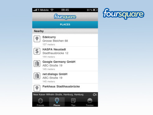 Foursquare Places