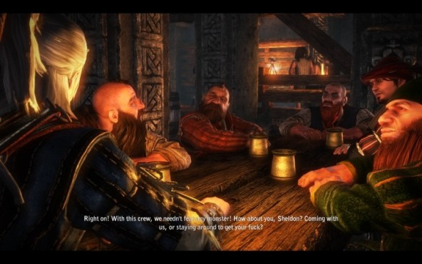 Rollenspiel The Witcher 2: Taverne © CD Projekt
