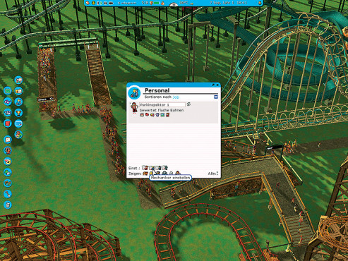 Simulation Rollercoaster Tycoon 3: Personal