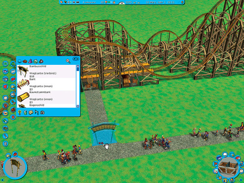 Simulation Rollercoaster Tycoon 3: Sackgasse