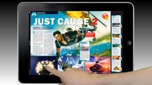 COMPUTER BILD SPIELE fürs iPad – so könnte es aussehen
